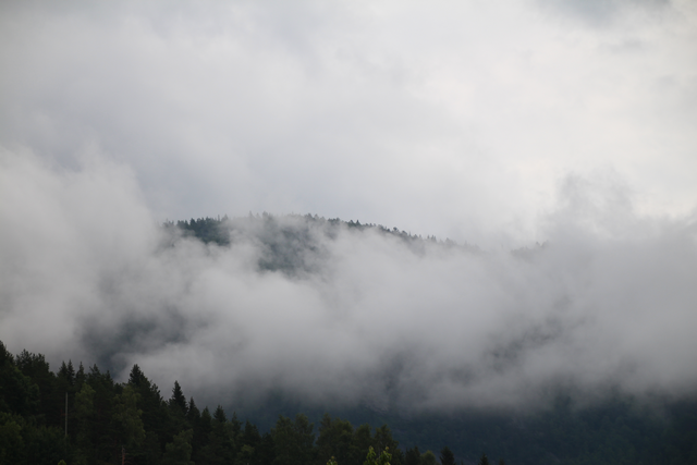 Scenery in Setesdal, Norway