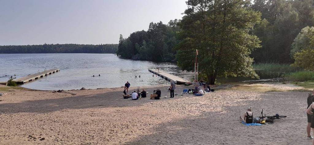 Swedish beach, Stockholm