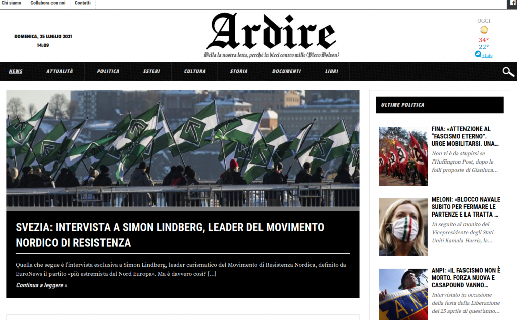 Ardire website