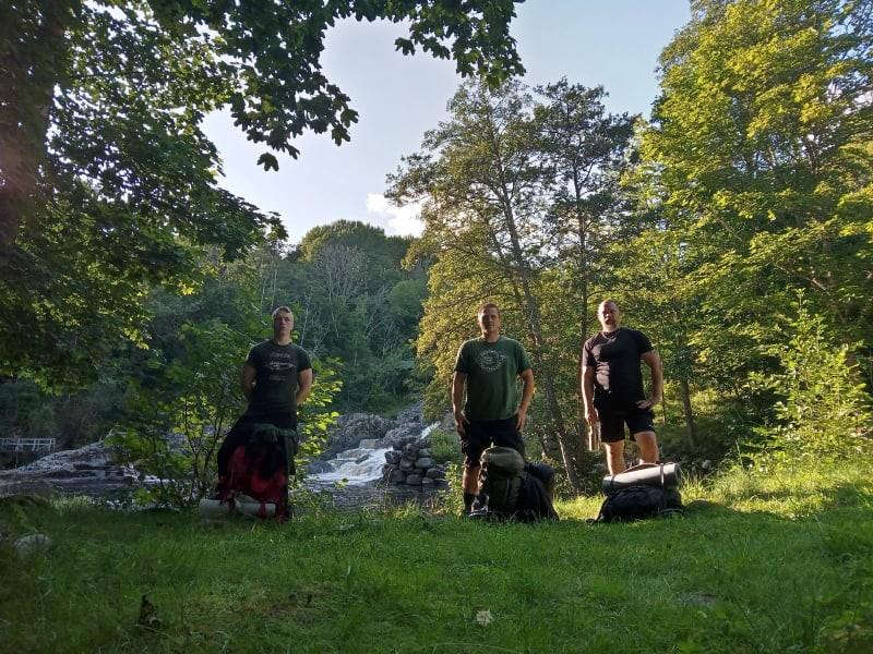 Bohusleden hikers