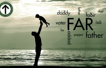 Father in different languages graphic