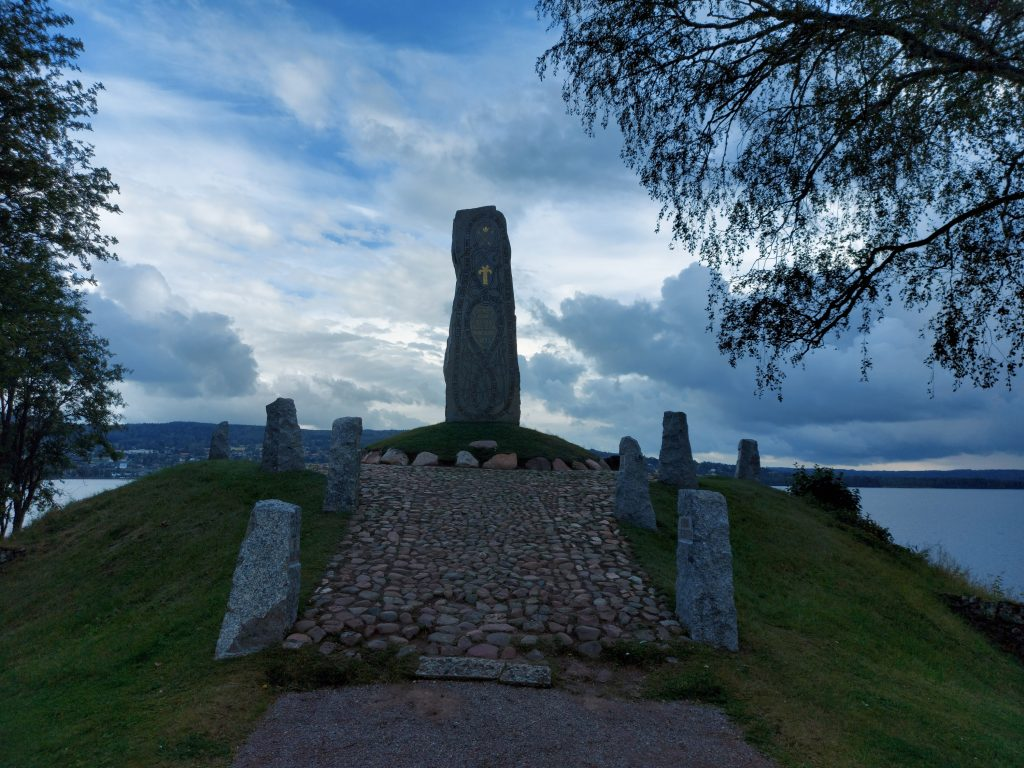 Gustav Vasa lecture memorial stone, Dalarna, Sweden
