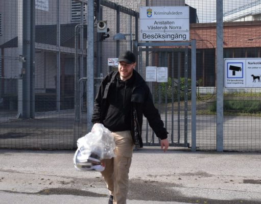 Marcus Hansson released from prison