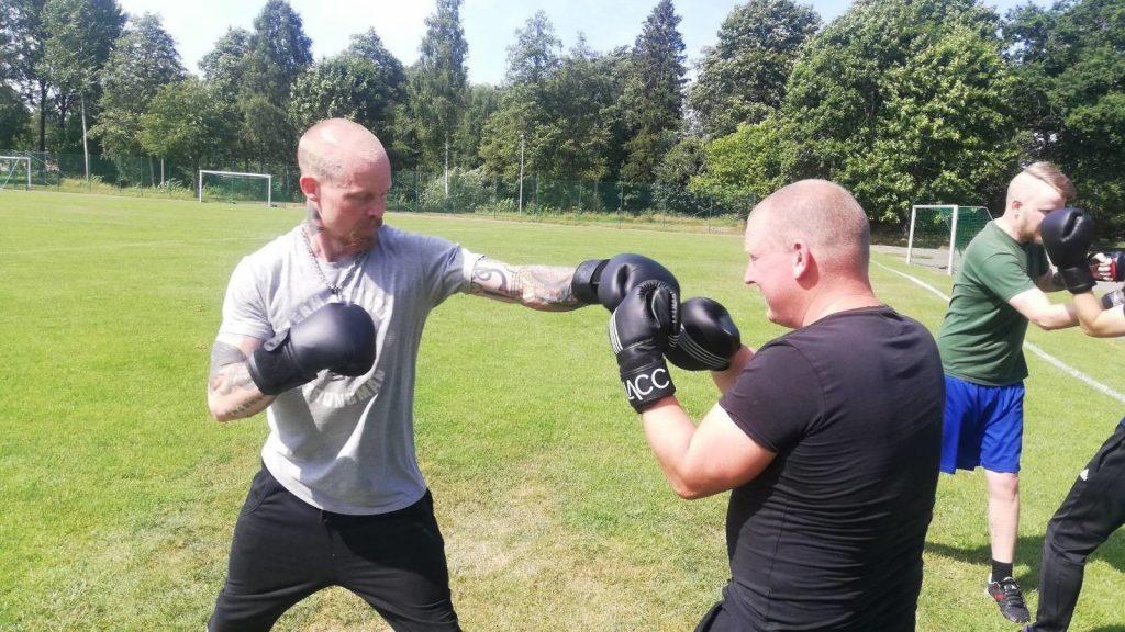 NRM Nest 7 boxing training