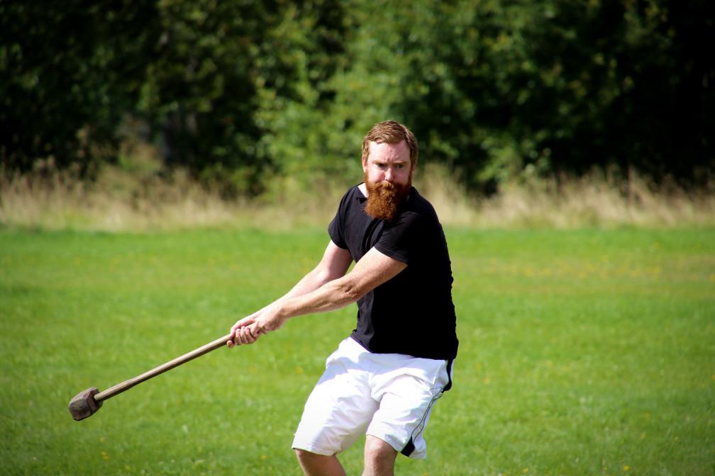 Nordic Days 2021 hammer throwing