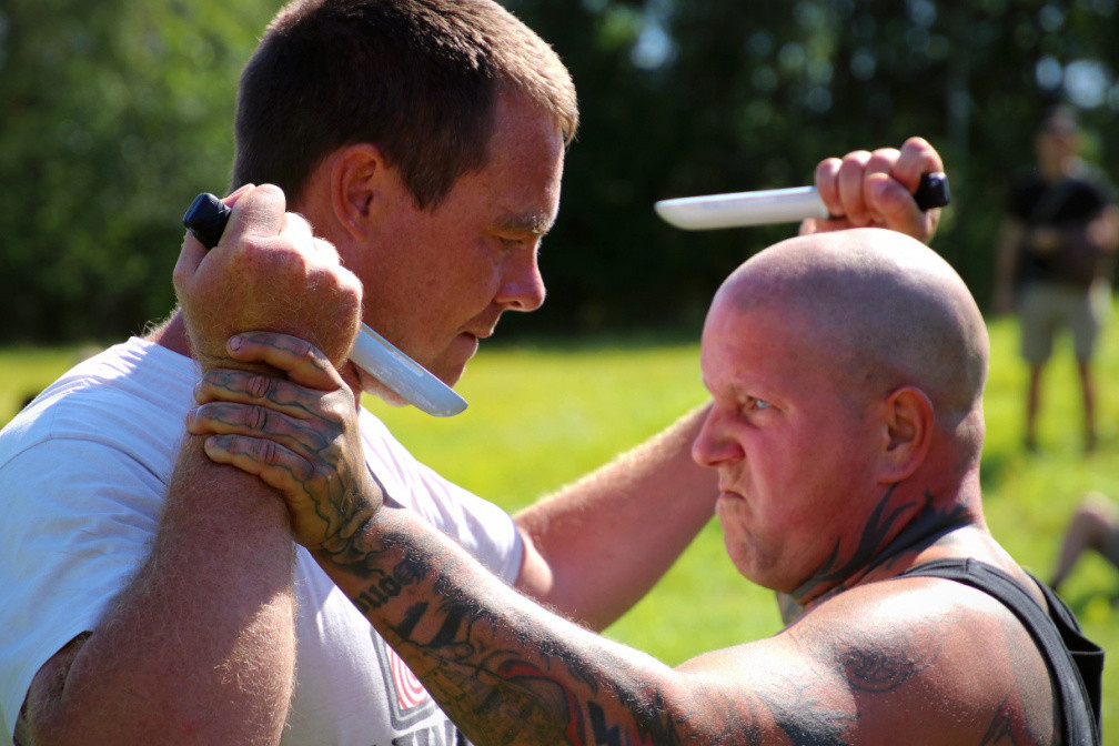 Nordic Days 2021 knife fighting