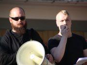 Nordic Resistance Movement speech in Strömstad