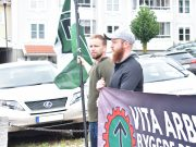 Nordic Resistance Movement banner action in Jönköping