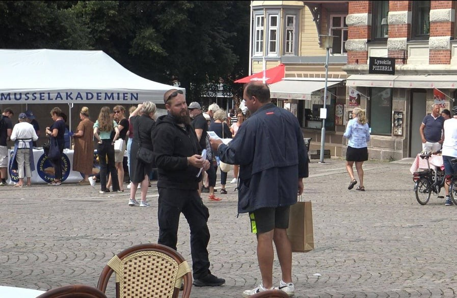 "NRM ""Peace for Nordic Women"" public activity, Lysekil"