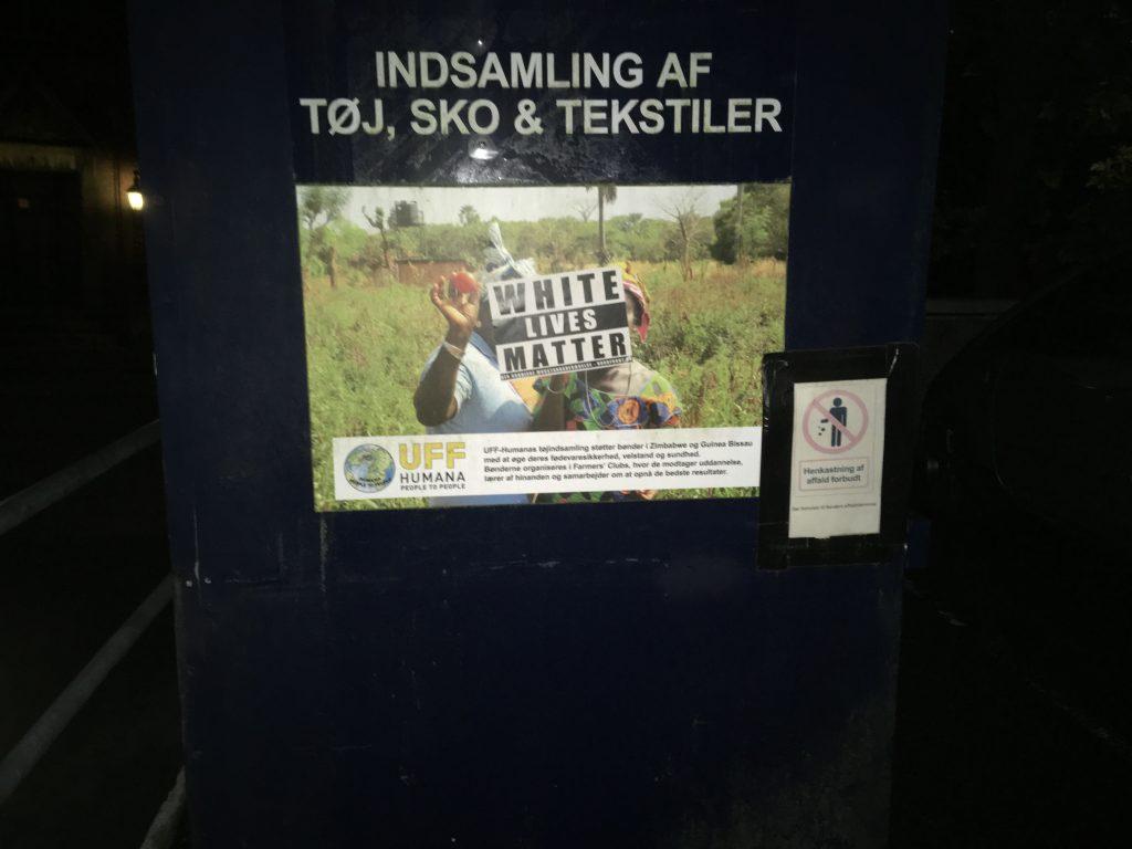 WLM sticker in Randers, Denmark