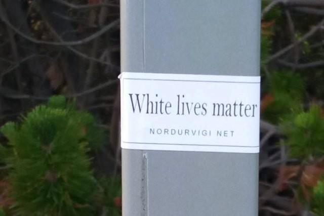 WLM sticker in Reykjavik, Iceland
