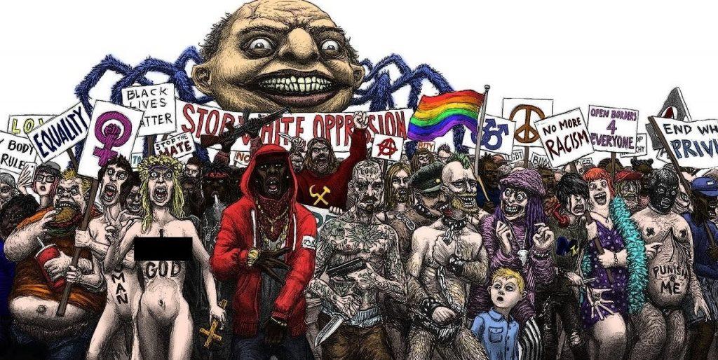 Cultural Marxism parade