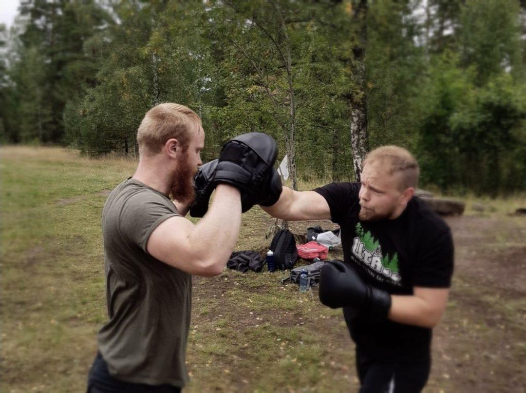 Nest 7 boxing training