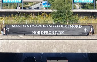 NRM banner, Gentfote, Denmark