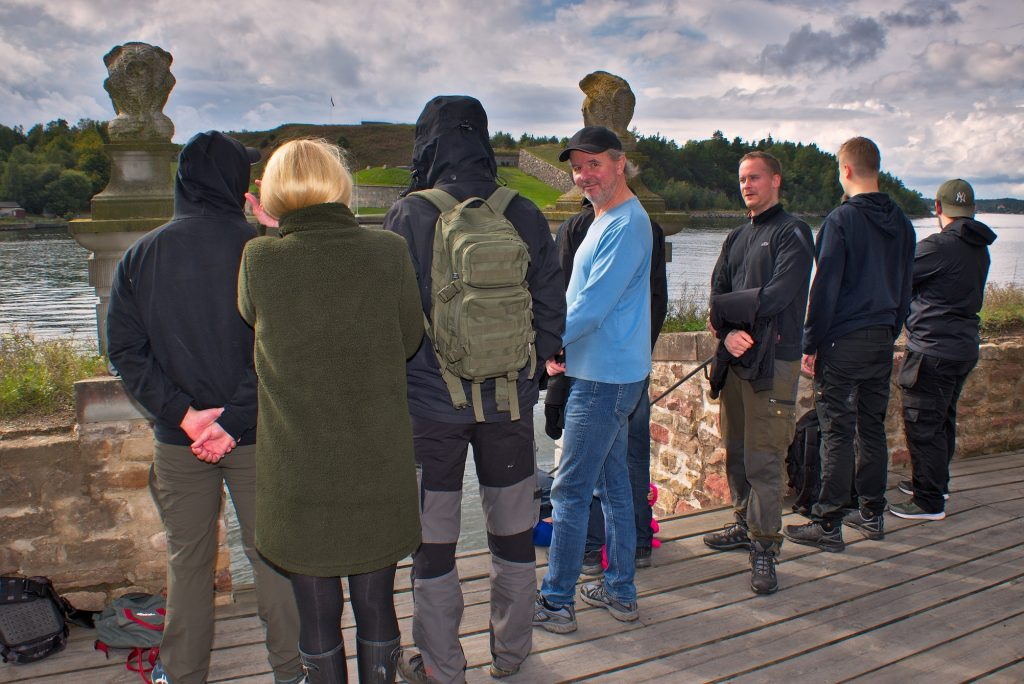 Activists and members at Oxdjupet, Sweden