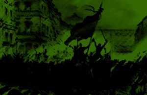 Revolution green graphic