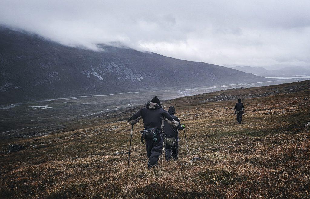 Sarektjåhkkå hiking, Lapland