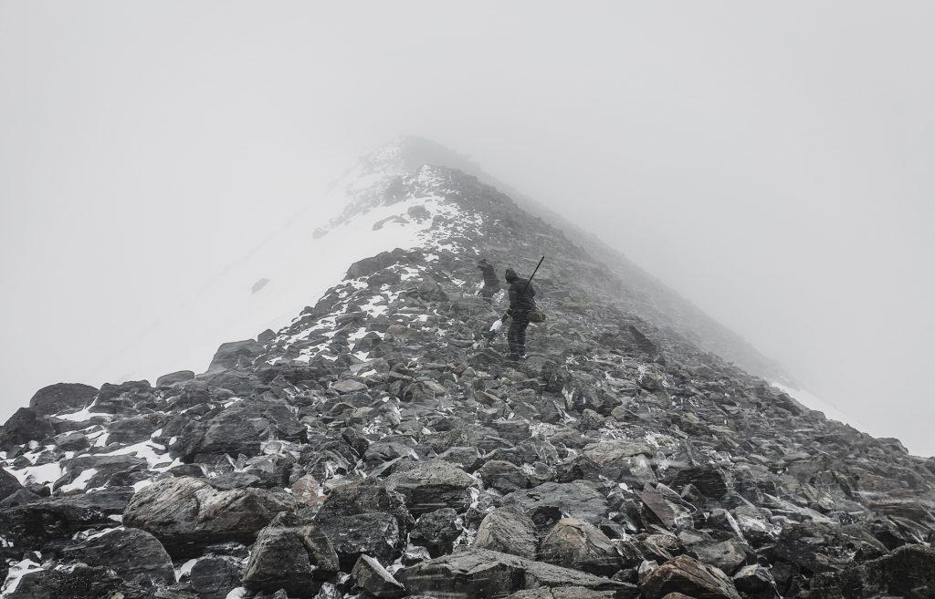 Sarektjåhkkå hiking