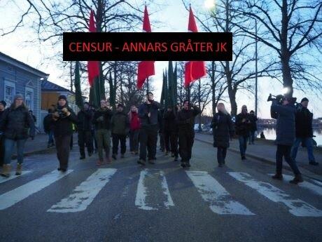 Swastika march, Helsinki