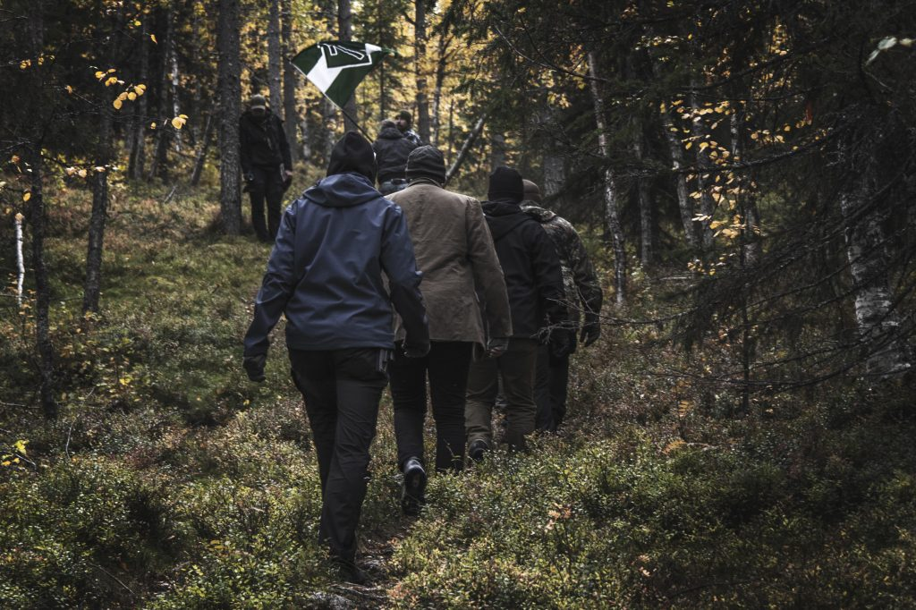 Vithatten hiking, northern Sweden