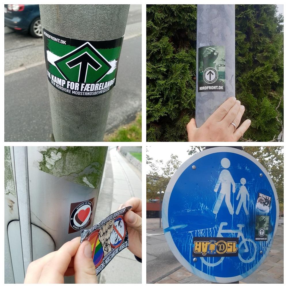 Glostrup NRM stickers